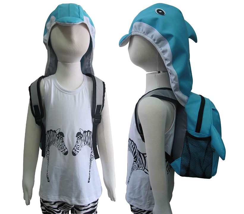 AYI-16600 Dolphins Backpack with Cap.jpg