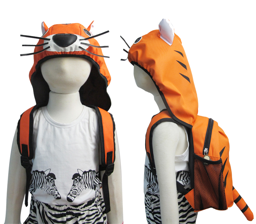 AYI-16903 Tiger Backpcack with cap.jpg
